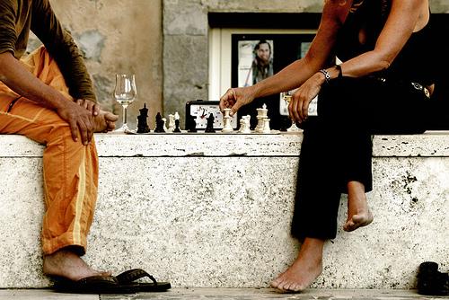 gewonnen met schaken