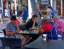 schaken hoofddoek campingkleding